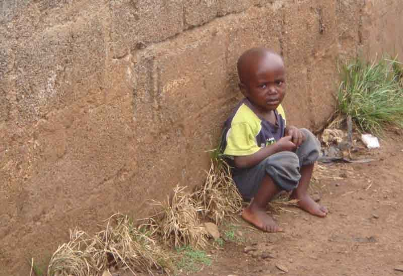 """A day in the life of a """"street-child"""""""