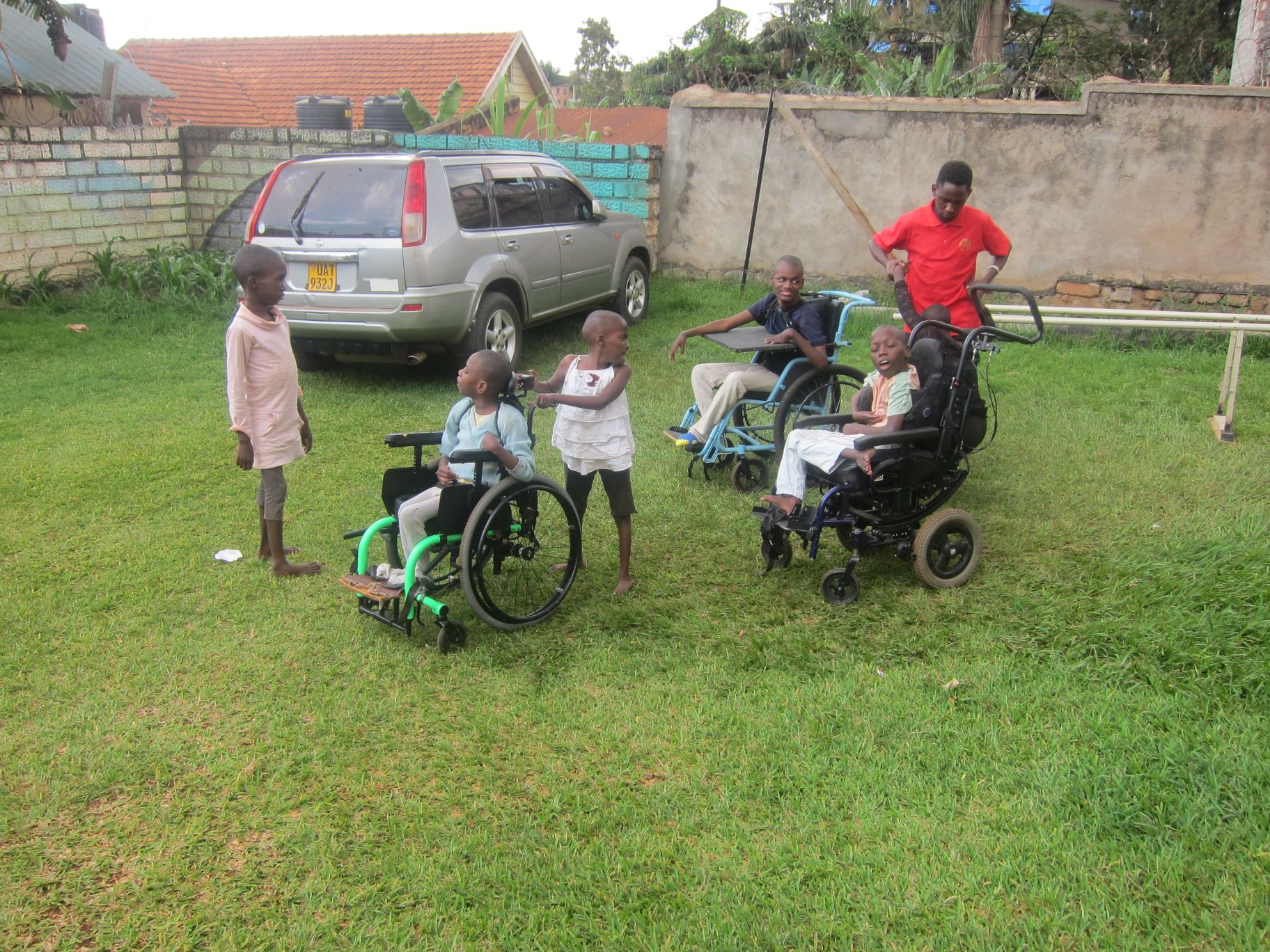 ABONDONED, DISABLED CHILDREN FIND A NEW FAMILY….